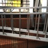 Aluminium trestles and board