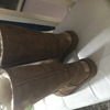 Tall real chestnut uggs