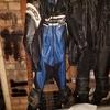 bike Lethers jacket boots gloves