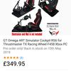 SIM racing cockpit and wheel
