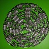 Silver mens chain long