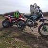 Eton 100cc quad and 125 Super stomp