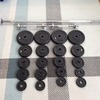 York dumbbell and barbell set