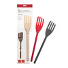 Steel covered Silicone cooking fork