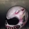 helmets custom painting motorbike