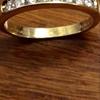 18ct gold 8 diamond.33 ring