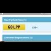 private plate reg G8 LPP