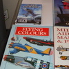 4 books on aircrafts and a dvd