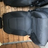 Audi A3 front and rear seats