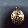 24 Carat gold plated locket