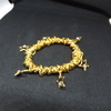 24 carat gold plated  bracelet