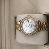 Genuine ladies 18ct diamond Rolex