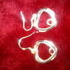 necklace L Ashley & silver,earrings
