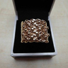 9 karat gold keeper ring 22.86 gram