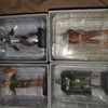 Diecast marvel figures with boxes