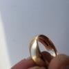 18 carat gold wedding ring
