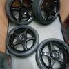"17"" Black universal alloys"