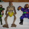a mix of vintage toys