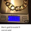 Men's curb bracelet