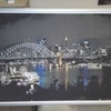 Framed print of Sydney harbour