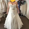 Stunnning size 22 wedding dress