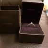9ct white gold ring diamond ring