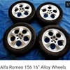 ALFA 156 Alloy wheels  16 in x  4