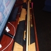top snooker / pool cue with case