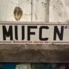 MUFC Number Plate