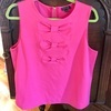 Pink top size 12