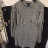 Grey jumper dress size 14