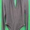 Grey Bodysuit size 12