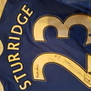 Match worn daniel sturridge shirt