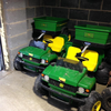 Electric John Deere gator