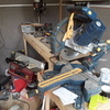 Large compound mitre saw