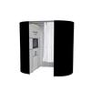 Oval photobooth