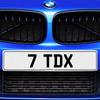 7 TDX Registration Number Plate