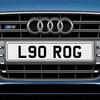 L90 ROG  Registration Number plate
