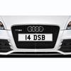 14 DSB Registration Number Plate