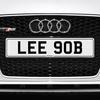 LEE 90B Registration Number Plate