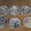 50P Coins - Beatrix potter etc.