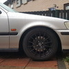 "fox alloys 15"" 4x100 good tyres"