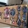 Vintage 1970s- 1990s pewter belts