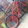 Fat bike orange in good condition
