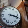 Vintage Train  station clock