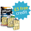 free sim card with £5