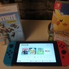 Switch with Pokemon & Fortnite £270