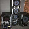 Sony stereo, speakers, subwoofer