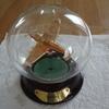 very nice spitfire  in glass globe