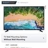 Samsung ue43nu7020 4k TV 43 inch